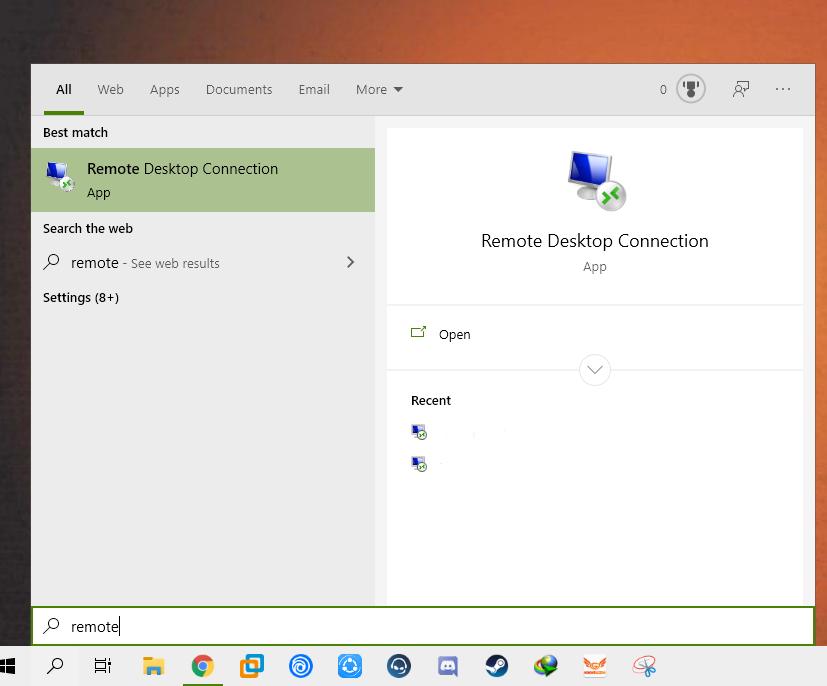 آموزش استفاده از remote desktop