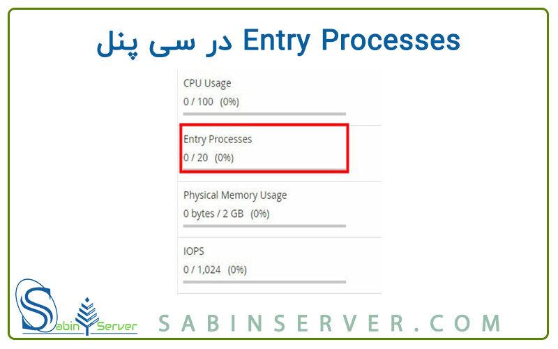 Entry Processes در سی پنل