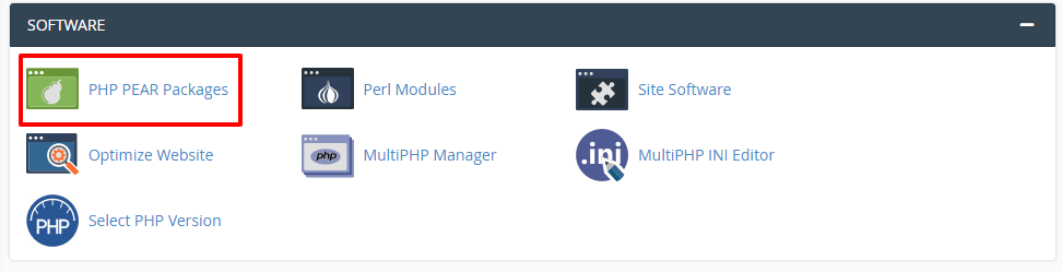 PHP PEAR Packages